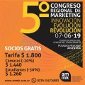 """Innovación, evolucion y revolucion"",en el 5to congreso regional de Marketing"