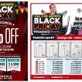 Producciones especiales para promocionar ofertas y beneficios del Black Friday